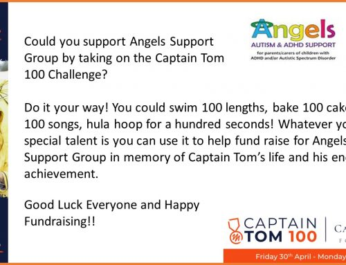 Captain Tom 100 Challenge – Support Angels