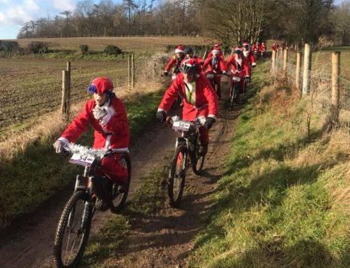 Thank You to the Cycling Santas!